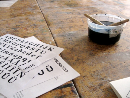 typography workshop